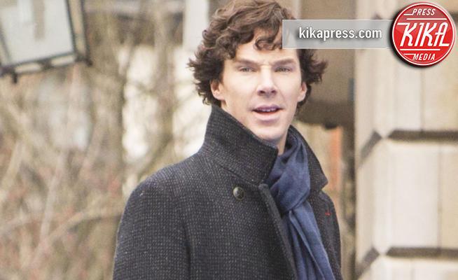 Benedict Cumberbatch - Londra - 13-04-2013 - Elementare Watson! Benedict Cumberbatch sventa una rapina