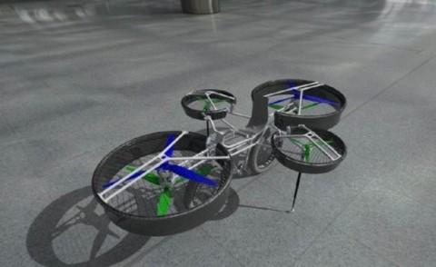 f bike - Praga - 20-06-2013 - La bicicletta volante è diventata realtà
