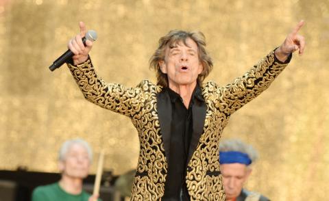 Rolling Stones, Mick Jagger - Londra - 13-07-2013 - Mick Jagger ancora papà a 72 anni! Altro che vecchietti!