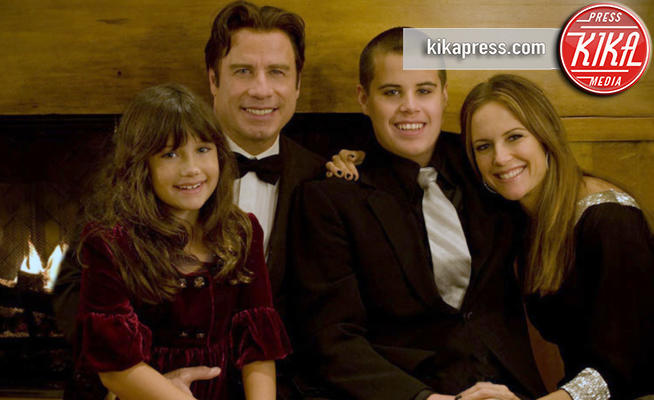 Jett Travolta, Kelly Preston, John Travolta - Hollywood - 03-01-2009 - John Travolta ricorda il dramma della morte di suo figlio