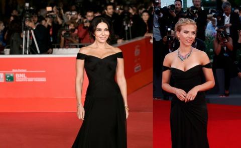 Sabrina Ferilli, Scarlett Johansson - 11-11-2013 - Sabrina Ferilli e Scarlett Johansson: chi lo indossa meglio?