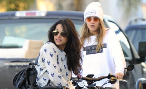 "Michelle Rodriguez: ""Si, frequento Cara Delevingne"""