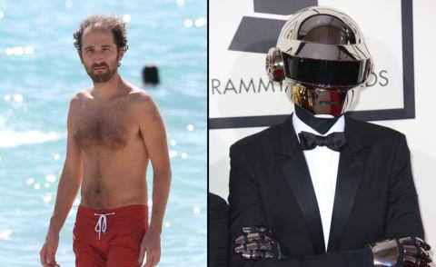 Thomas Bangalter - Miami - 27-01-2014 - Ecco Thomas Bangalter: il casco d'argento dei Daft Punk