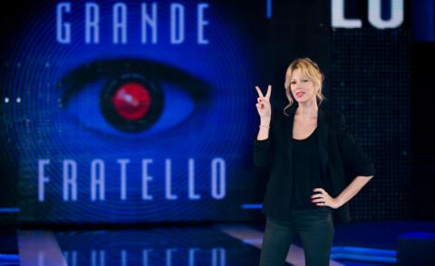 Alessia Marcuzzi - Roma - 27-02-2014 - Il Grande Fratello 13 è ai nastri di partenza