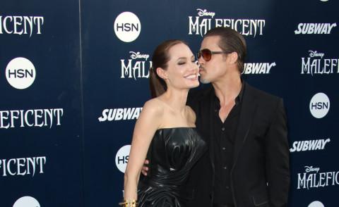 Angelina Jolie, Brad Pitt - Los Angeles - 28-05-2014 - Brad Pitt pazzo d'amore per la sua Maleficent