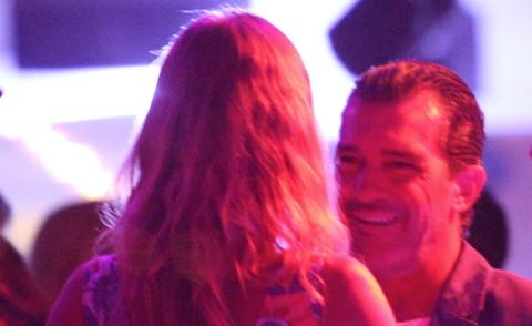 Antonio Banderas - Saint Tropez - 16-08-2014 - Antonio Banderas: altro che Mulino Bianco