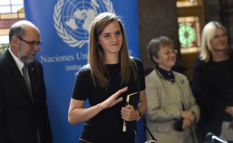 Emma Watson - Montevideo - 17-09-2014 - Emma Watson, attaccata dagli hacker, difende le donne all'Onu