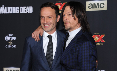 Andrew Lincoln, Norman Reedus - Universal City - 02-10-2014 - The Walking Dead presenta la quinta stagione