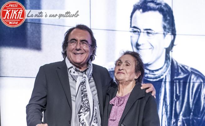 Jolanda Ottino, Al Bano - Roma - 18-11-2014 - Al Bano e mamma Jolanda a Porta a Porta: che mammoni questi vip!