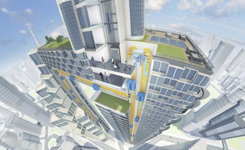 Multi - Germania - 29-11-2014 - Benvenuti sull'ascensore del prossimo futuro