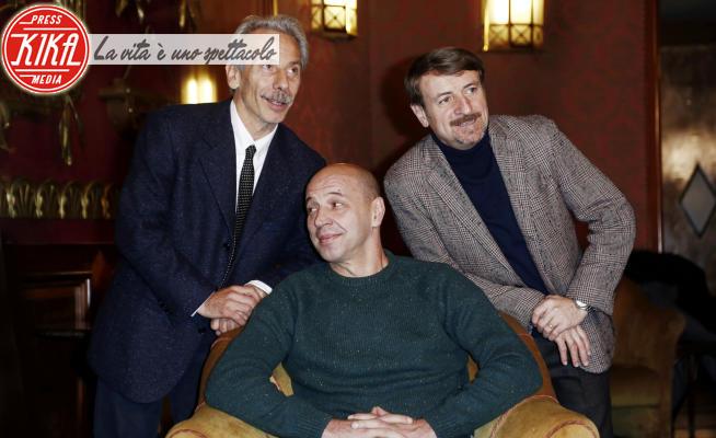 Giacomo Poretti, Giovanni Storti, Aldo Baglio - Milano - 10-12-2014 - Giacomo Poretti: Io e il Covid,troppo debole anche per il caffè