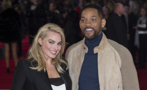 Margot Robbie, Will Smith - Londra - 11-02-2015 - Will Smith presenta Focus, ma il focus è su Margot Robbie!