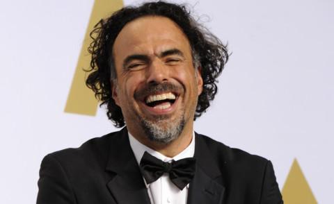 Alejandro Gonzalez Inarritu - Los Angeles - 22-02-2015 - Oscar 2015: è il momento di alzare la statuetta al cielo