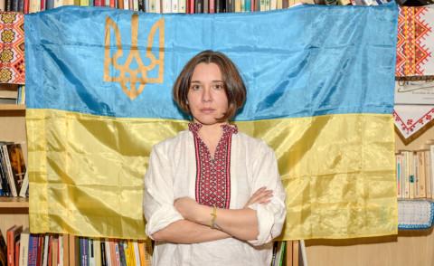 Malve di Ucraina, Marina Sorina - Verona - 18-02-2015 - L'esercito delle badanti di Marina Sorina per la pace in Ucraina