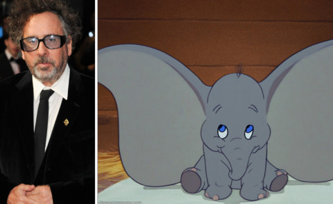 Dumbo, Tim Burton - Londra - 10-10-2012 - Arriva Dumbo in live action grazie a Tim Burton