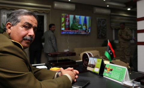 Khalifa Haftar - Libia - 09-03-2015 - Viaggio nella Libia di Khalifa Haftar, il generale anti ISIS