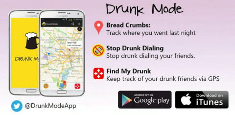 Drunk Mode - Los Angeles - 24-03-2015 - Drunk Mode,l'app che ti impedisce di scrivere quando sei ubriaco