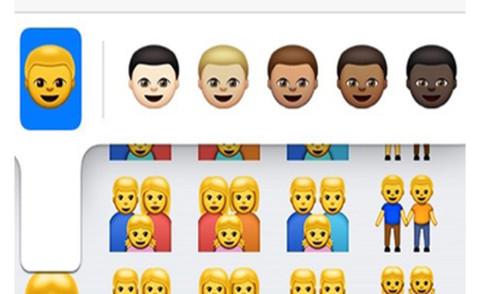 Emoji - Milano - 10-04-2015 - Razze diverse e famiglie 2.0 nelle nuove emoticon di Apple