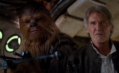 Chewbecca, Star Wars Il Risveglio della Forza, Harrison Ford - Los Angeles - 17-04-2015 - Mtv Movie Awards 2016: Star Wars domina le nomination