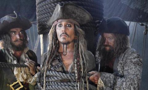 Johnny Depp - 22-04-2015 - Pirati dei Caraibi 5: ecco la prima foto sul set