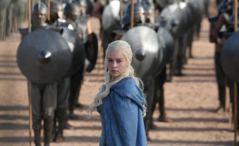 Il trono di spade, Emilia Clarke - 20-05-2013 - Game of Thrones: Emilia Clarke introduce la sesta stagione
