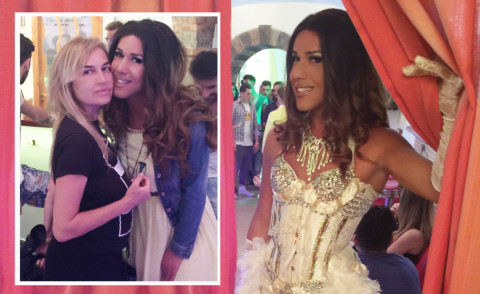 ines rodriguez, Lory Del Santo - 12-05-2015 - In The Lady 2 anche la bellissima Ines Rodriguez