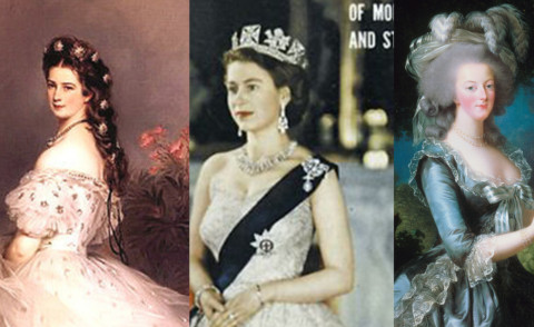 La principessa Sissi, Regina Maria Antonietta, Regina Elisabetta II - 23-06-2015 - Bella come una regina: ecco i loro segreti di bellezza!