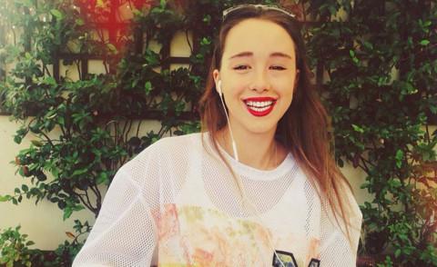Aurora Ramazzotti - Milano - 11-08-2015 - Aurora Ramazzotti condurrà X Factor Daily