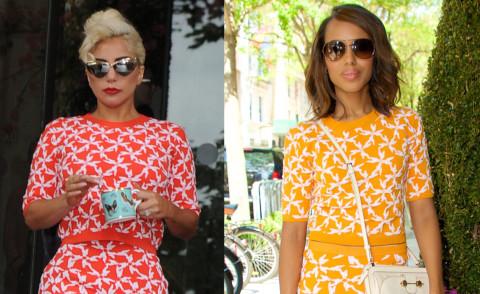 Lady Gaga, Kerry Washington - 03-09-2015 - Lady Gaga e Kerry Washington: chi lo indossa meglio?