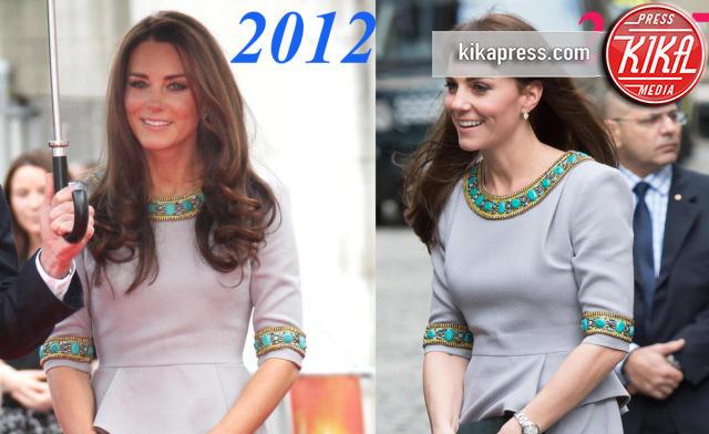 Kate Middleton - Londra - 19-11-2015 - Kate e il riciclo: quel Matthew Williamson l'ha già indossato!