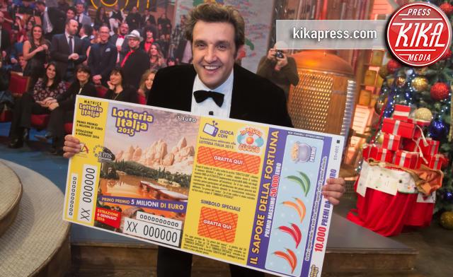 Flavio Insinna - Roma - 07-01-2016 - Lotteria Italia: a Veronella il primo premio da 5 milioni