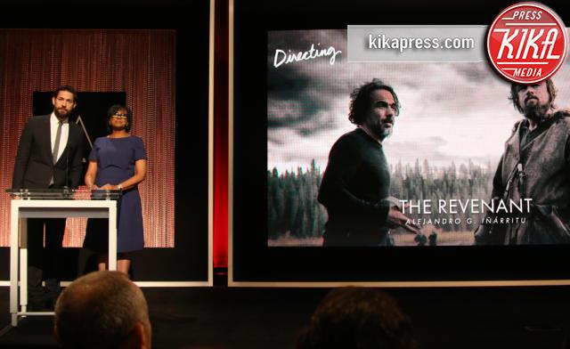 Cheryl Boone Isaacs, John Krasinski - Academy Of Motion Picture Arts A - 14-01-2016 - Oscar 2016: tutte le nomination. Le immagini dell'annuncio