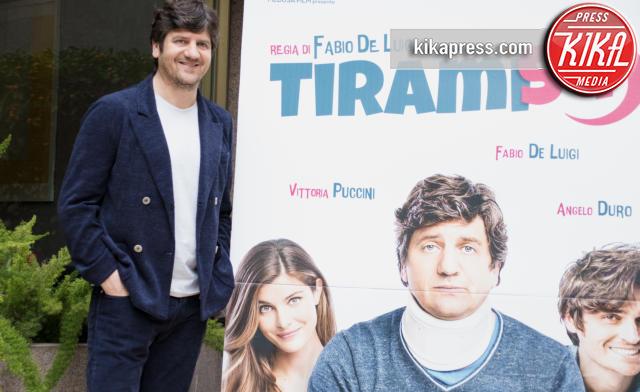 Fabio De Luigi - Roma - 22-02-2016 - Fabio De Luigi triplica gli sforzi per Tiramisù