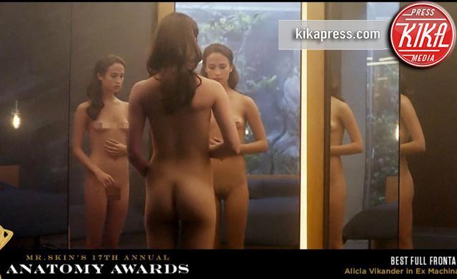 Alicia Vikander - Hollywood - 07-03-2016 - Anatomy Awards 2016: ecco i migliori nudi di Hollywood