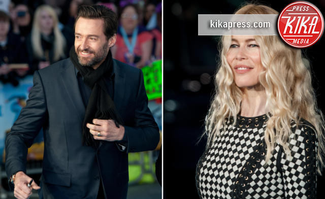 Claudia Schiffer, Hugh Jackman - Londra - 17-03-2016 - Eddie the Eagle, le star sono Hugh Jackman e Claudia Schiffer