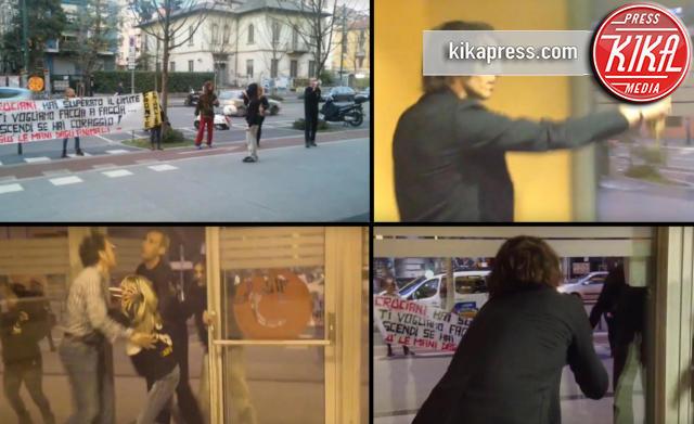 Giuseppe Cruciani - Milano - 26-03-2016 - Cruciani e i vegani: il faccia a faccia finisce in rissa