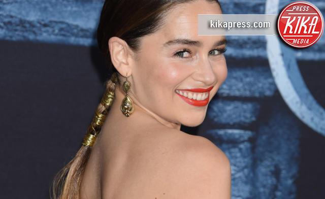Emilia Clarke - Hollywood - 10-04-2016 - Il Trono di Spade 6: le foto della premiere americana