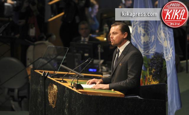 Leonardo DiCaprio - New York - 22-04-2016 - Giornata dell'ambiente: le star a tutela del pianeta