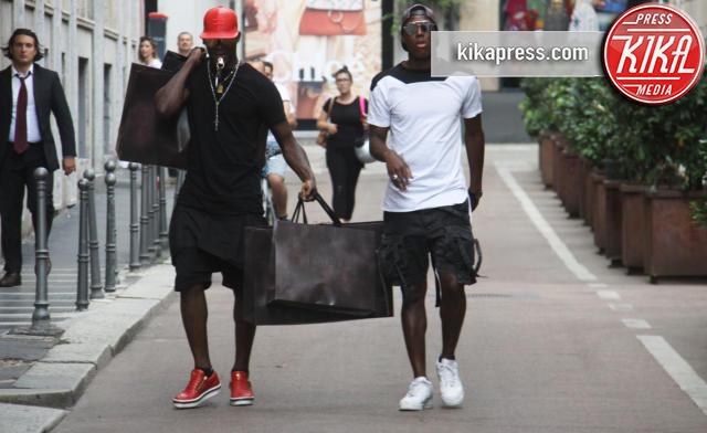 Enock Barwuah Balotelli, Mario Balotelli - Milano - 07-06-2016 - Mario Balotelli: con lo shopping va sempre in gol