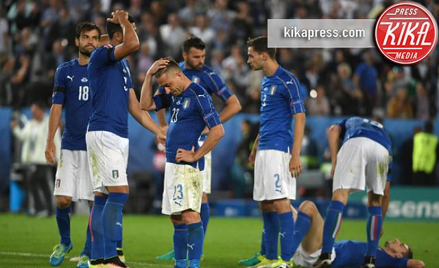 Nazionale Italiana - Bordeaux - 03-07-2016 - Euro 2016 addio: l'Italia eliminata ai rigori dalla Germania