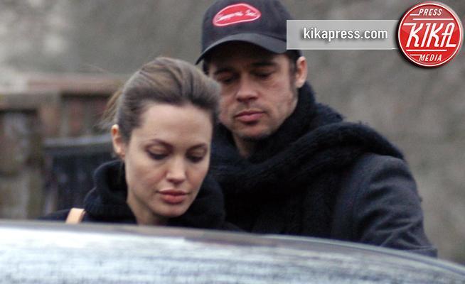 Angelina Jolie, Brad Pitt - Los Angeles - 16-01-2016 - Jolie-Pitt: conclusa la trattativa sulla custodia dei figli