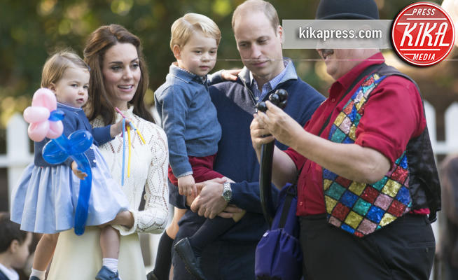 Principessa Charlotte Elizabeth Diana, Principe George, Principe William, Kate Middleton - Victoria - 30-09-2016 - Royal Baby in Canada, il divertimento è tutto per loro