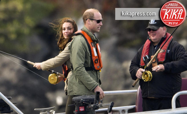 Principe William, Kate Middleton - British Columbia - 01-10-2016 - Kate, cara, ti andrebbe di andare a pesca?