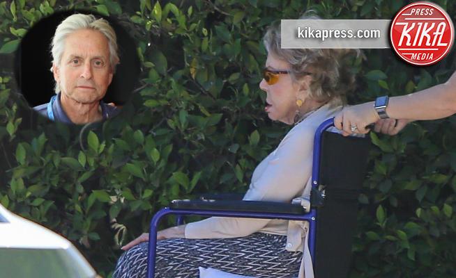 Anne Buydens, Michael Douglas - Los Angeles - 10-10-2016 - Anne Buydens, si rivede la matrigna di Michael Douglas