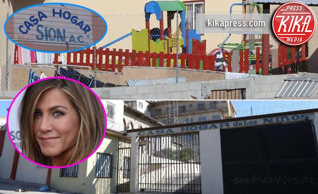 Casa Hogar de Los Ninos, Casa Hogar Sion, Jennifer Aniston - Tijuana - 11-11-2016 - Jennifer Aniston, cuore di mamma: ora aiuta ben due orfanotrofi