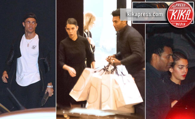 Georgina Rodriguez, Cristiano Ronaldo - Madrid - 22-12-2016 - Cristiano Ronaldo, shopping per amore di Georgina