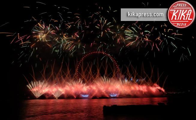 ambient, Atmosphere - Londra - 31-12-2016 - Londra ha festeggiato l'arrivo del 2017 con i fuochi d'artificio
