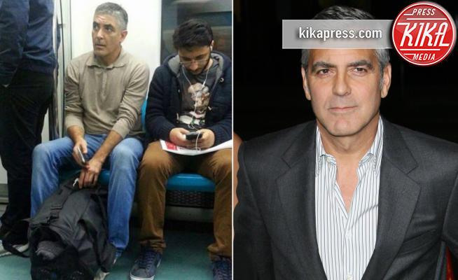 George Clooney - 27-01-2017 - I sosia inconsapevoli dei personaggi famosi