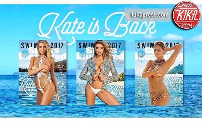 Kate Upton - Sports Illustrated: Kate Upton in cover per la terza volta