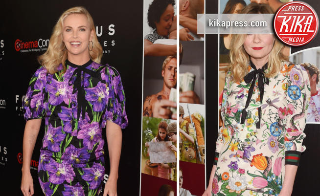 Kirsten Dunst, Charlize Theron - 30-03-2017 - Chi lo indossa meglio? Charlize Theron e Kirsten Dunst in Gucci